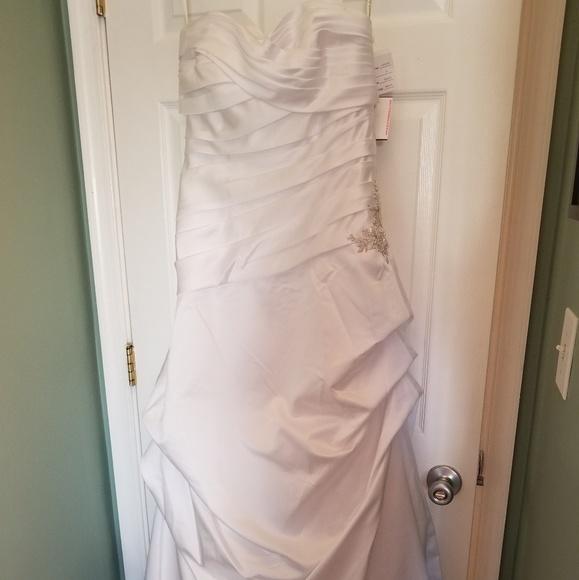 4a7066d957e David s Bridal Wedding Gown
